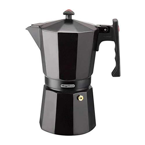 MAGEFESA Colombia – La cafetera MAGEFESA Colombia está Fabricada en Aluminio Extra Grueso. Pomo y Mangos ergonómicos de…