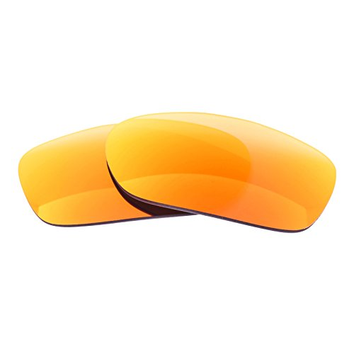 - LenzFlip Replacement Lenses for Oakley TwoFace   Gray Polarized with Red Mirror   100% UV Protection