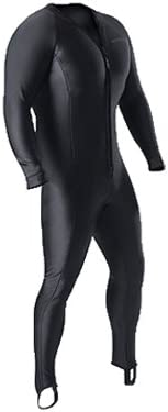Sharkskin Men's Chillproof One Pieve Front Zip Undergarment for Drysuit Diving (4X-Large)