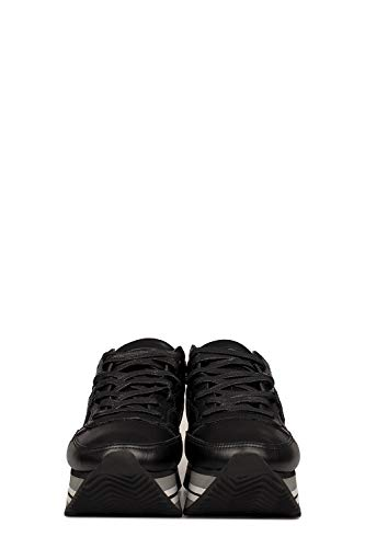 Nero Model Pelle Eildv004 Philippe Donna Sneakers wvOBdXOqH