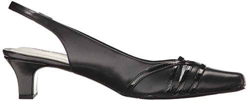 Easy Street Womens Kristen Dress Pump Black / Patent
