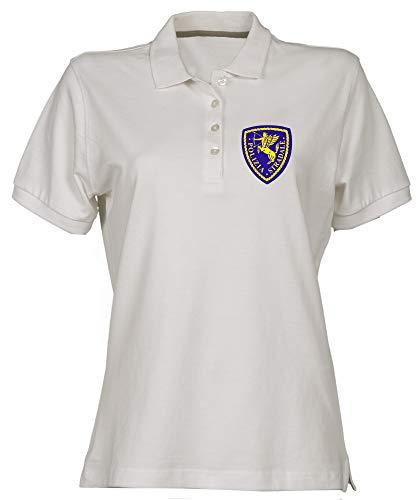 Stradale TM0594 Polo Bianca Shirt Donna Speed Polizia YT7qI5fqv