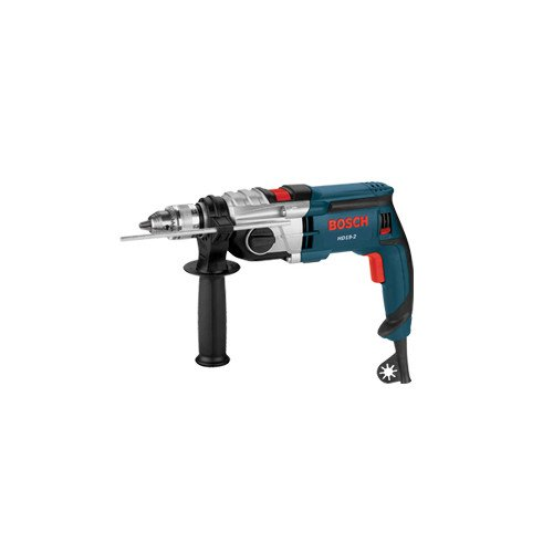 (Factory Reconditioned Bosch HD19-2B-RT 8.5 Amp 1/2 in. 2-Speed Hammer Drill)