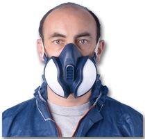 7 opinioni per 3M 4255PT Respiratore per Gas e Vapori a Semimaschera, Blu