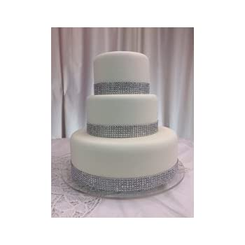Amazon.com | Fake Cake Wedding Cake real Fondant with