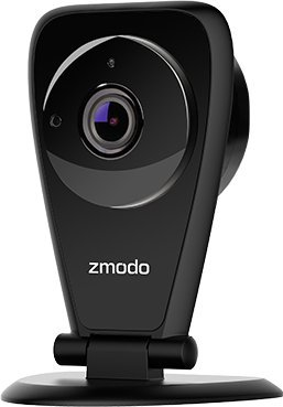 Zmodo EZCam Pro 1080p Wireless Two-Way Audio Security Camera- Smart HD WiFi IP Cameras Night Vision Renewed
