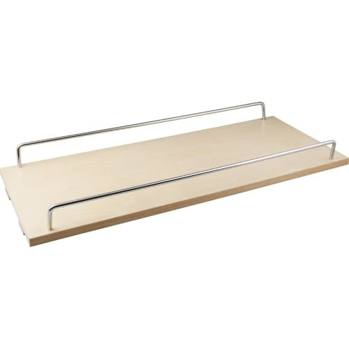 5'' Single shelf for the BPO5 series base cabinet pullout that includes (1) shelf (4) clips and (2) metal rails