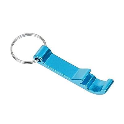Pocket Small Key Chain Ring Bar Claw Beverage Beer Bottle Opener Multifunctional Openers Random - Bottle Opener