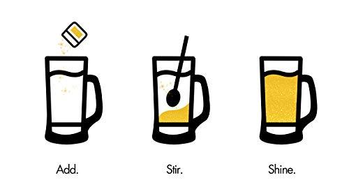Rose Gold Beer & Beverage Glitter | 1 lb (450 grams) | Edible Food Grade Beer Glitter, Cocktail Glitter & Beverage Glitter-Dust from Bakell by Bakell (Image #7)