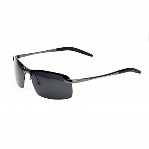 Gafas 4 Sol Mirada Polarizada Luz Metal Gafas Marco Color De De ZX 3 Sorprendida UV400 Movimiento Manejar Hombres aCAqt5
