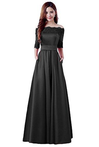 Yorformals Off The Shoulder Half Sleeve Evening Gown Prom Dress Size