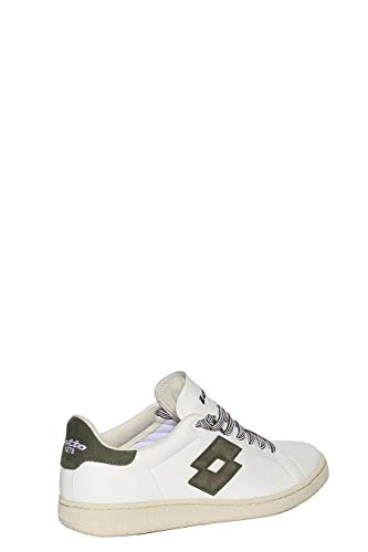 Lotto Uomo 41 Pelle Sneakers EU Bianco Autograph Leggenda rrp5wqZ
