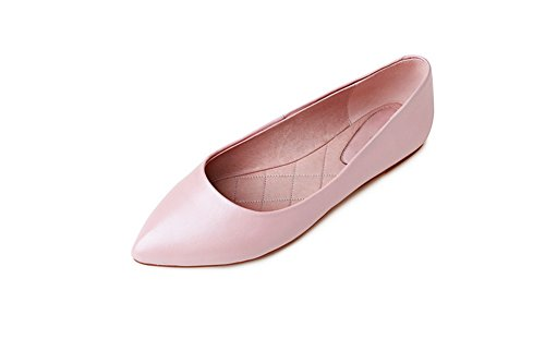 1TO9Mms03271 - Sandali con Zeppa donna, Rosa (Pink), 35