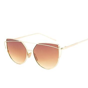 ZHANGYUSEN Gafas de sol de Moda Mujer gafas de sol ojo de ...