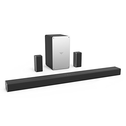 VIZIO SB3651-F6 36″ 5.1 Home Theater Sound Bar System, Black (2018)