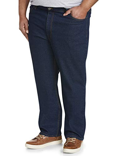 - 314IA161AmL - Amazon Essentials Men's Big & Tall Relaxed-fit Stretch Jean fit by DXL