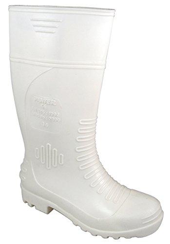 Panter 330011616–Punt. Hohe Stiefel weiß Antigr. EG-2090–Größe: 47