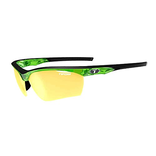 - Tifosi Vero Sunglasses - Crystal Neon Green W/ Clarion Yellow/ac Red/clear