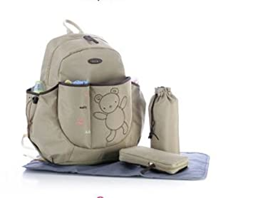 Amazon.com : Bear Baby Diaper Bags, baby Bag Backpack Nappy ...