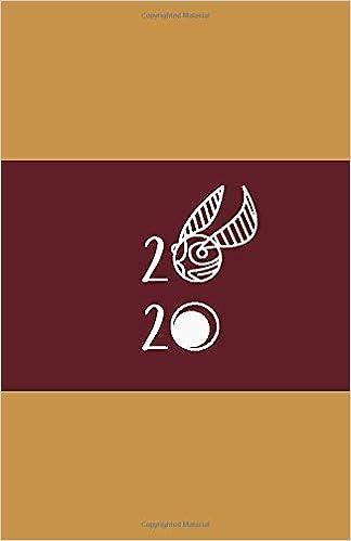 2020: Planner | School of Witchcraft & Wizardry Cover ...