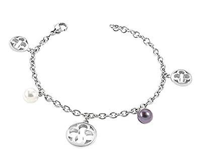 abbastanza economico a disposizione promozione Morellato Bracciale da donna SAAZ09 Ducale, Acciaio inossidabile, Perle  coltivate, Argento