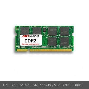 DMS Compatible/Replacement for Dell SNP758CPC/512 Laser Printer 5530dn 512MB eRAM Memory 200 Pin DDR2-667 PC2-5300 64x64 CL5 1.8V SODIMM - DMS