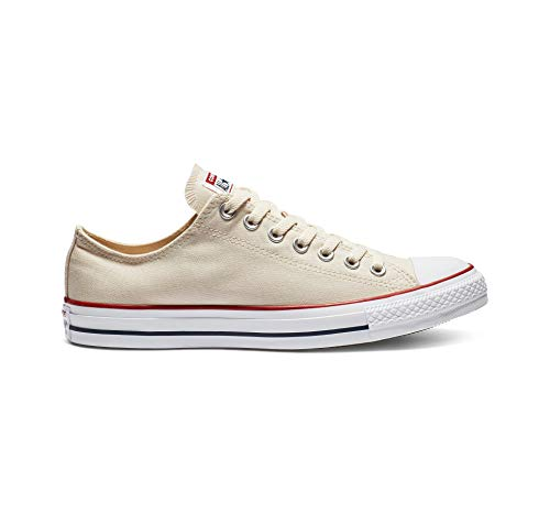 Converse Chuck Taylor All Star Low Top Sneakers, Natural Ivory, 11.5 M US