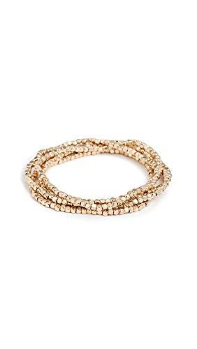 SHASHI Women's Empress Bracelet Set, Gold, One Size