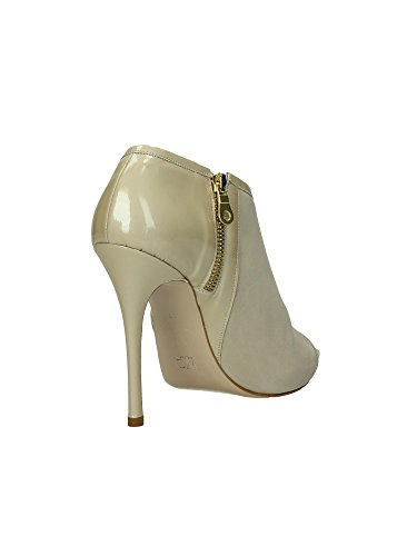 Wo Milano T216 Sandales femmes Beige, Taille 1