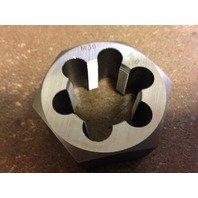 30 mm-1.50 Metric Carbon Hex Rethreading Die