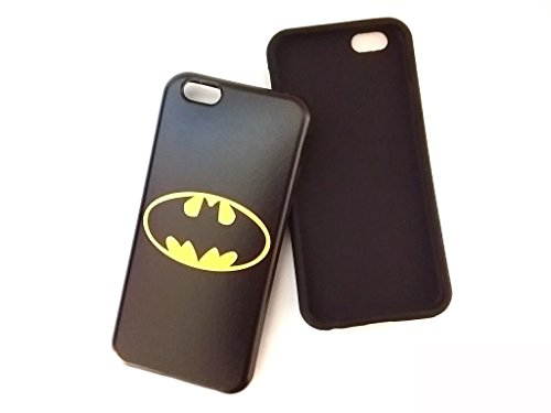 [iPhone 7 Case]KUBRICK Smartphone Bumper Case Cell phone Cover Urethane UV Coating Marvel DC Movie Printing Iron Man Superman Batman Captain America Spider-man at Gotham City Store