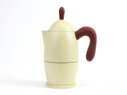 - Guzzini Zaza Stovetop Espresso Maker MADE IN ITALY 3 Cups Size Ivory