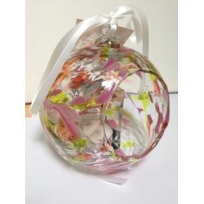 (Milford Collection Hanging Glass Birthstone Nightlight Globe - Topaz - November)