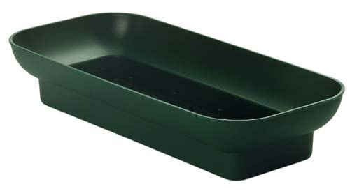 Floral Arrangement - Double Design Bowls for Oasis Floral Foam (10'' Pine Green) by Oasis
