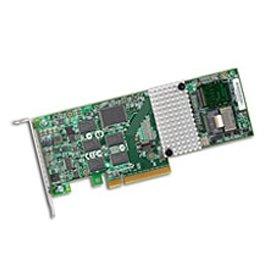 3Ware 9750-4I 4-PORT Int., 6GB/S Sata+sas, Pcie 2.0, 512MB Sas, Qi by LSI Logic