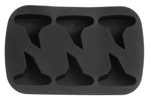 Premier Housewares 6 Witches Hat Cake Mould Tray - Black -