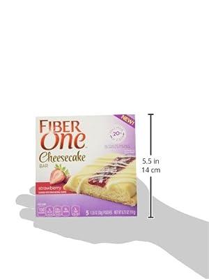 Fiber One Strawberry Cheesecake Bars (Pack of 4)