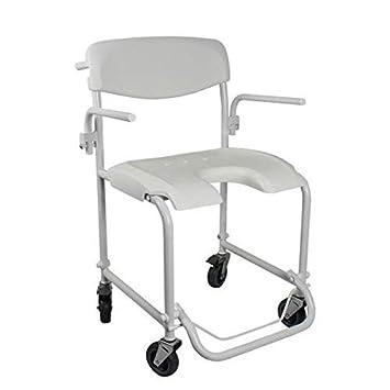 sillas de ruedas de wc plegabled