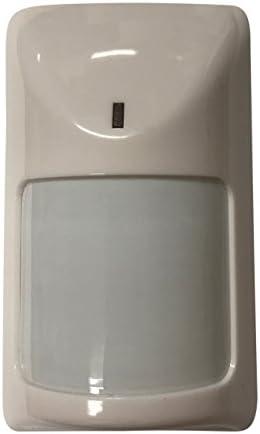 Lepeuxi Detector de Infrarrojos pasivo con Sensor de Movimiento PIR con Cable Sistema de Seguridad para el hogar Rel/é de Alarma de Advertencia montado en la Pared