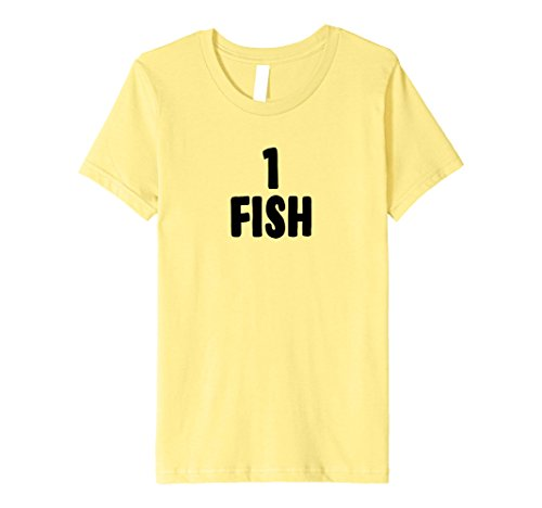 Kids One Fish Group Halloween Costume T-shirt