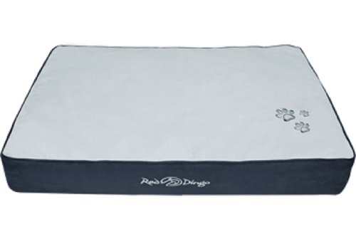 Red Dingo Dark Grey/Light Grey Pet Bed Mattress, X-Large