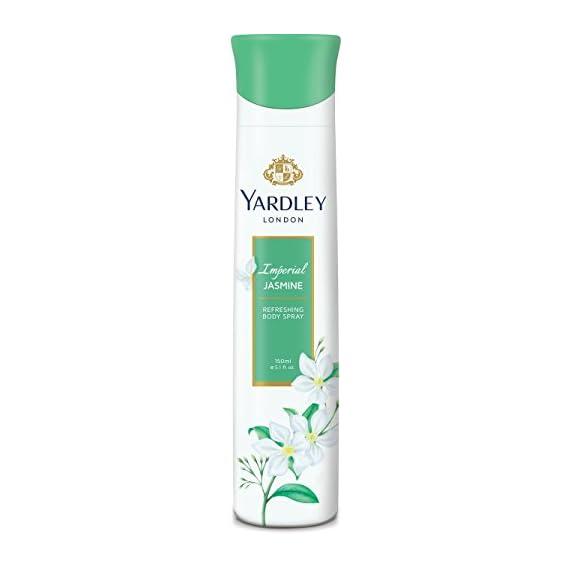Yardley London Imperial Jasmine Perfumed Deo For Women, 150ml