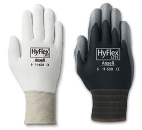 Ansell Hyflex, Size 9 Black (pack of 12)