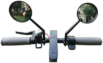 Tinke Espejo retrovisor Scooter Ajustable Espejo retrovisor de ...
