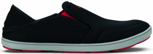 OLUKAI Nohea Mesh Shoe - Men's Black/Black 13 (2013 Spring Fashion New)