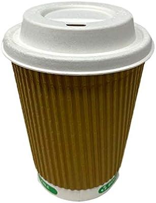 We Can Source It Ltd – Taza de café de papel kraft ondulado, sin ...