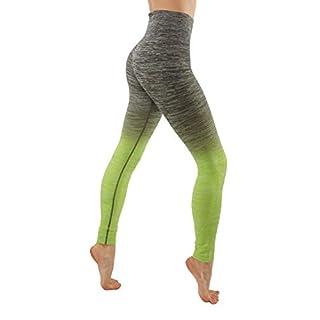 CODEFIT Yoga Dry-Fit Pants Workout Printed Leggings Ombte Print XS-3XL