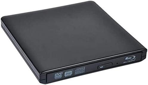 KJRJFD PC/のMacBook用ブルーレイDVDドライブ、ポータブル3D 4K USB3.0 CD/DVD-RAM/BD-ROMのSuperDrive CD +/- RWバーナーリライタ/カードリーダー (Color : C)