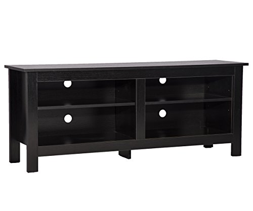 58'' Wood TV Stand Media Storage Console Table , Entertainment Center (Tv Stands Media Storage)