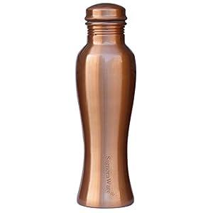 Signoraware Statva Copper Bottle, 1000ml, Set of 1, Brown